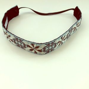 Accessories - Blue Patterned Headband